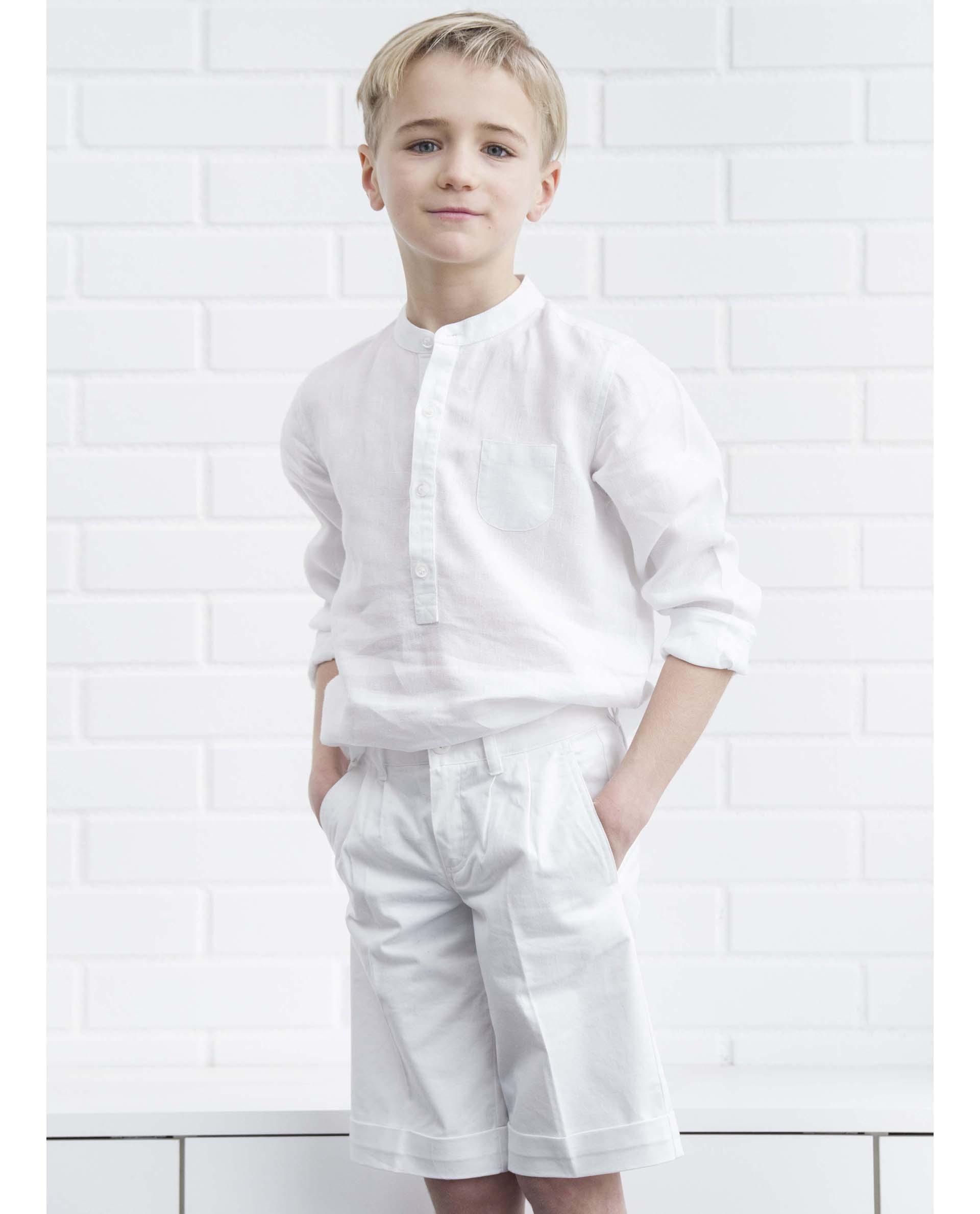 Culotte anglaise blanc