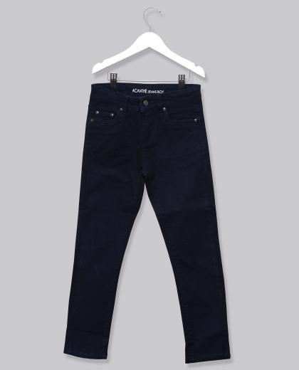 Pantalon 5 poches twill marine