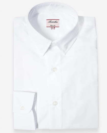 Chemise manches longues blanche*