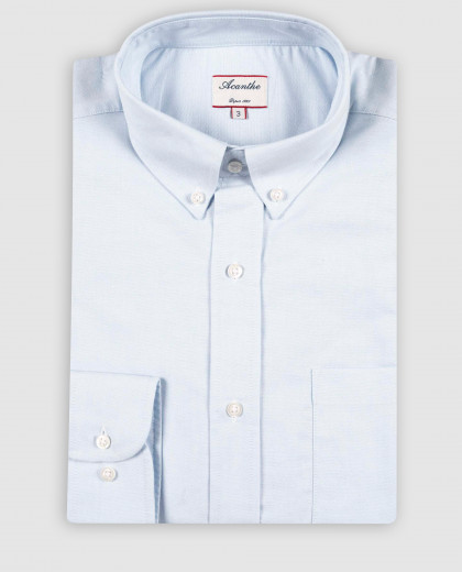 chemise col boutonné oxford